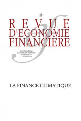 Revue d'économie financière, 2e trimestre 2020 N°138