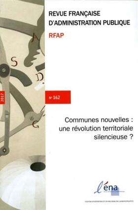 Revue française d'administration publique, 2017 N°162
