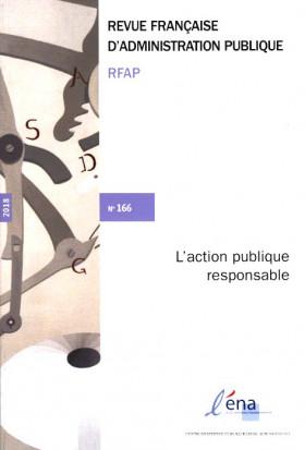 Revue française d'administration publique, 2018 N°166