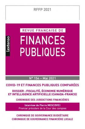 Revue Française de Finances Publiques n°154 - Mai 2021