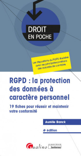 RGPD : la protection des données à caractère personnel