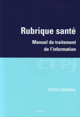 Rubrique santé - Manuel de traitement de l'information