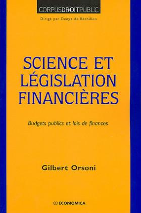 Science et législation financières