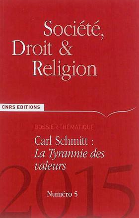 Société, Droit & Religion, 2015 N°5
