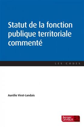 Statut de la fonction publique territoriale commenté