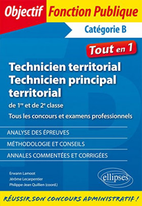 Technicien territorial, technicien principal territorial de 1re et de 2e classe