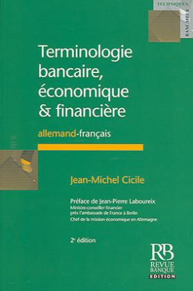 Terminologie bancaire, économique & financière
