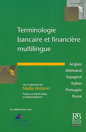 Terminologie bancaire et financière multilingue