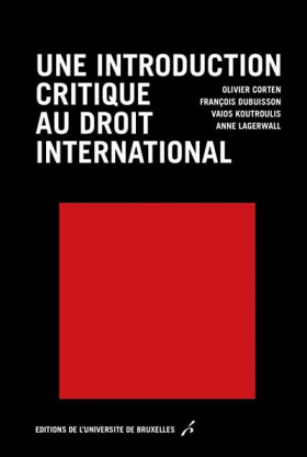Une introduction critique du droit international