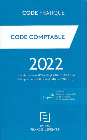 Code comptable 2022 -  PriceWaterhouse Coopers