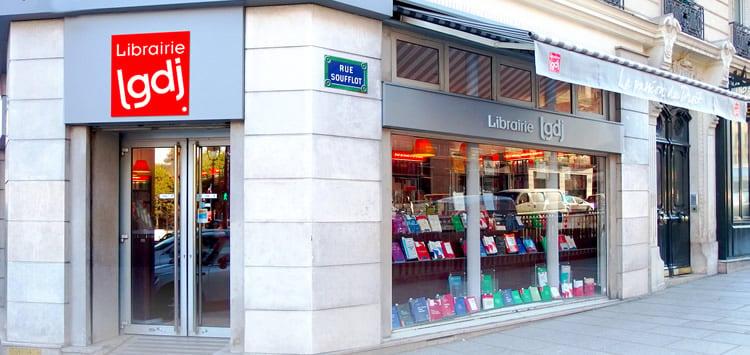 Librairie LGDJ 20 Rue Soufflot Paris
